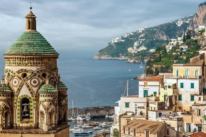 Tour of Amalfi-Positano-Pompeii (FullDay 8h)