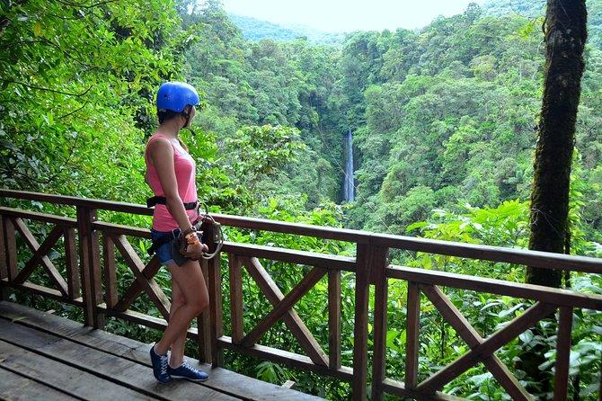 Zipline Over La Fortuna Waterfall - 7 Longest Lines