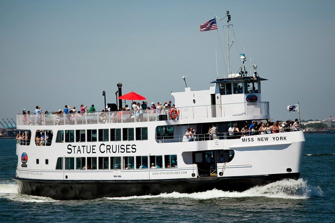 New York City Hop On Hop Off Bus Tour With Liberty Island Ferry
