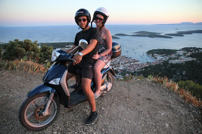 Scooter 50cc rental Hvar photo 1