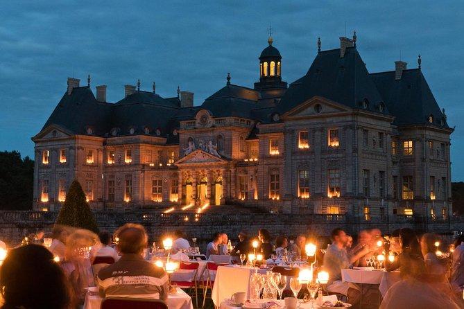 Luxury Evening Dining Experience bij Chateau de Vaux-le-Vicomte
