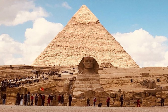 Full-day Great Pyramids, Saqqara step Pyramid, and Dahshure tour