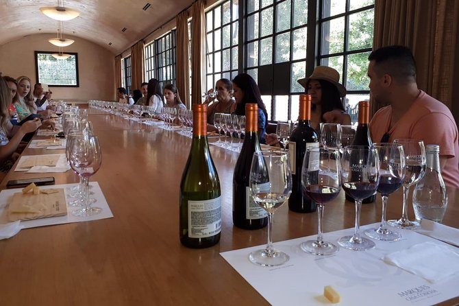 Premium Concha y Toro Winery Tour with Wine and Cheese Tastings from Santiago photo 15