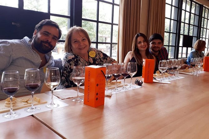 Premium Concha y Toro Winery Tour with Wine and Cheese Tastings from Santiago photo 7