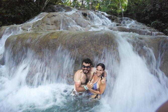 Dunn's River Falls ....natural water massage!