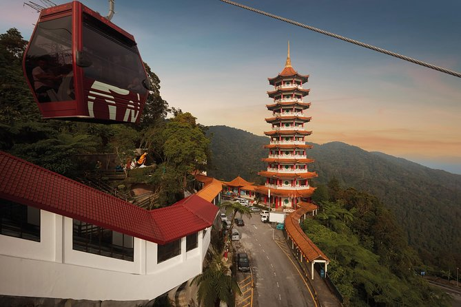 Awana SkyWay Gondola Cable Car in Genting Highlands (QR Code Direct Entry)