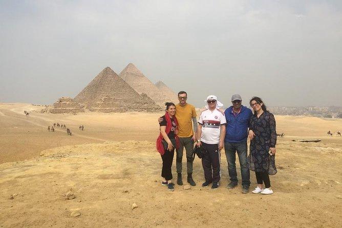 Giza, saqqara and dahshour pyramids adventure tour