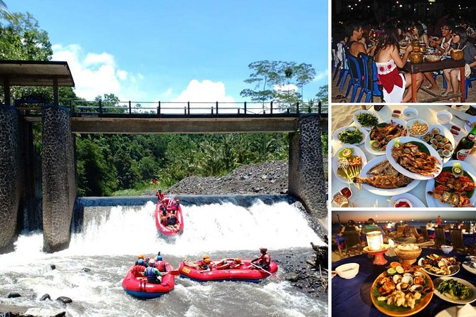 Telaga Waja Rafting and Jimbaran Seafood Dinner Packages