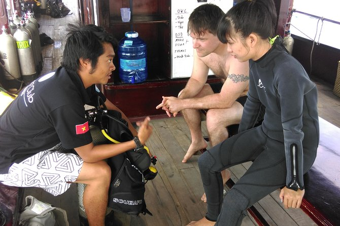 Refresher dives for certified divers