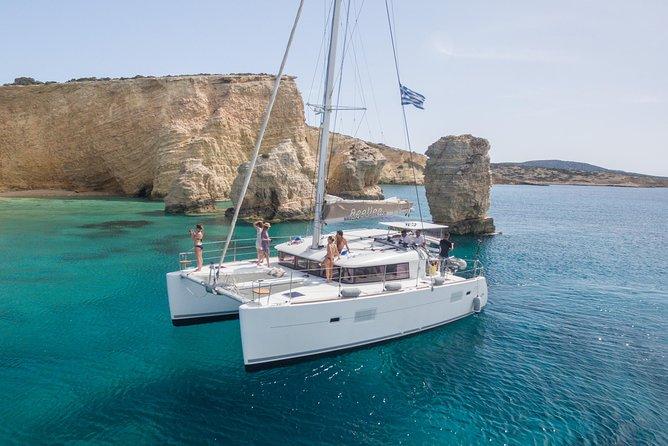 Catamaran Full-Day Cruise around Naxos with Lunch