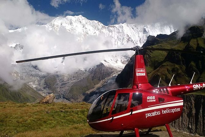 Helicopter Tour To Annapurna Base Camp From Pokhara