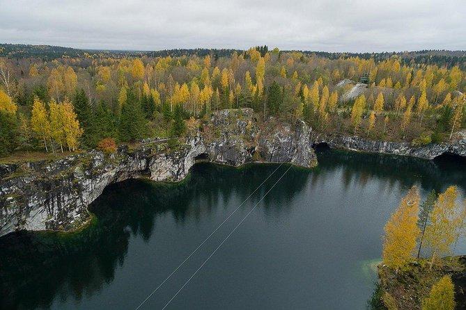 Private Tour to Ruskeala Mountain Park, Karelia 2 days