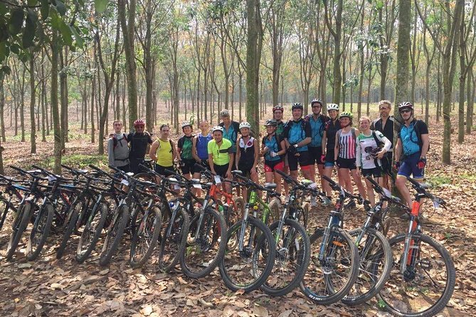 Cu Chi Tunnels & its countryside by bicycle