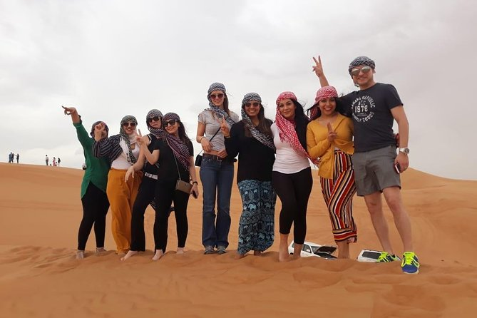 Morning Desert Safari with Sand boarding and Camel Ride photo 20