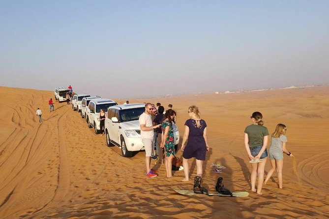 Morning Desert Safari with Sand boarding and Camel Ride photo 11