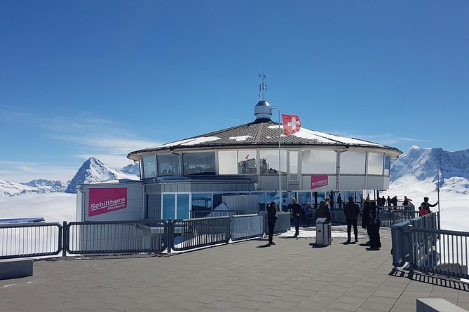 Schilthorn Piz Gloria (James Bond Location) Small Group Tour from Zürich