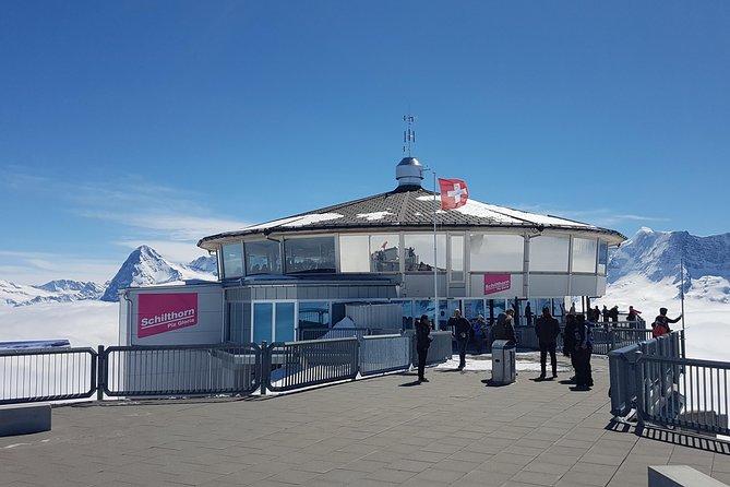 Schilthorn Piz Gloria (James Bond Location) Small Group Tour from Zürich