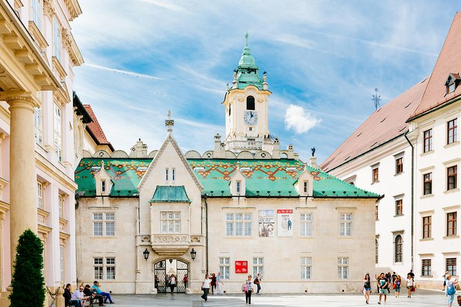 Bratislava Day Trip from Vienna Including Catamaran Cruise