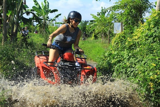Bali Day Out: ATV Ride And Rafting With Lunch