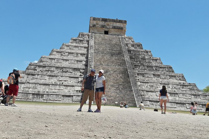 CHICHEN ITZA is a legendary Mayan city with imposing buildings and a lot of history.