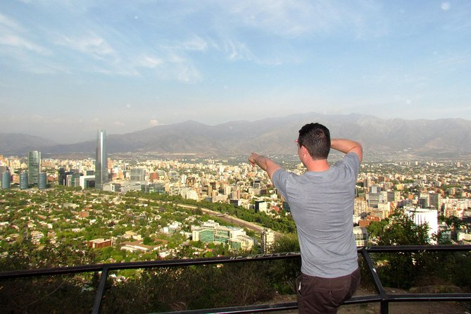 Private Layover: Full-Day Santiago City Tour with Airport Transfer