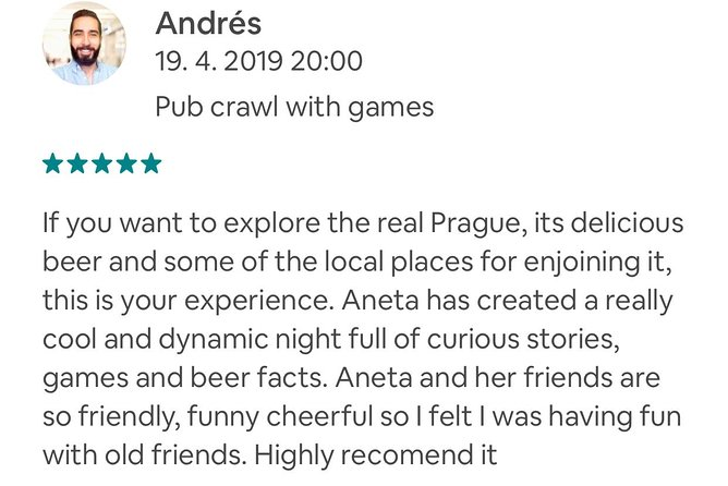 Alternative Pub Crawl Prague