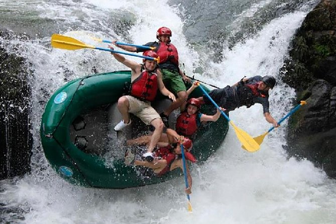 Tenorio River class III & IV white water rafting