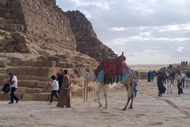 The pyramids, the Sphinx and Saqqara the step pyramid!
