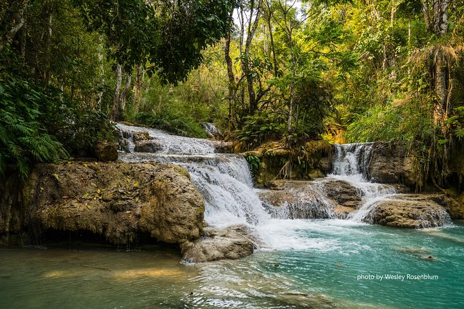 Private Tour Full-day Morning Market, Villages and Scenic Kuang Si Waterfall