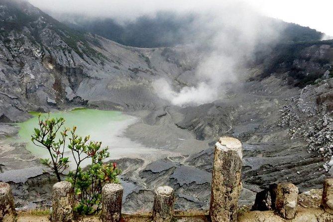 Bandung Private Tour: Tangkuban Perahu Crater & Rainforest Walk