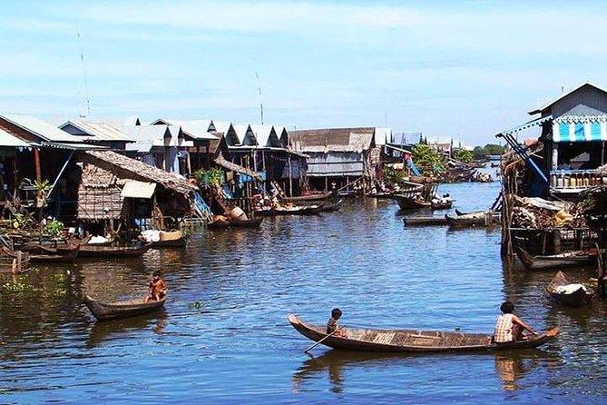 Kampong Pluk-Floating Village Tour at Tonle Sap Lake-Small Group
