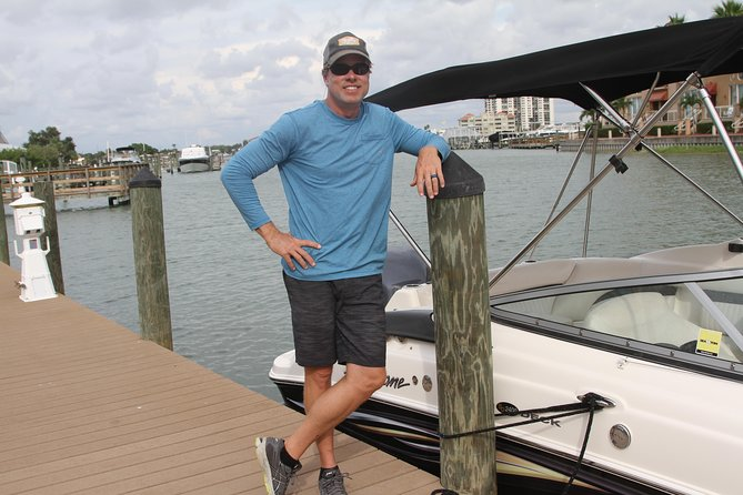 Private Boating On The Hurricane Deck Boat - Clearwater Beach