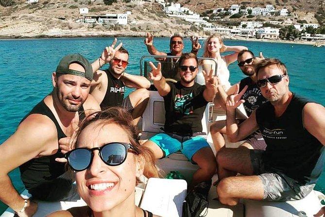 Scenic Boat Tour of Ios