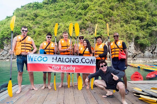 Halong bay 1 day trip - 6 hours on boat, Transfer by luxury bus on highway