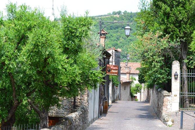 The medieval village of Arquà Petrarca