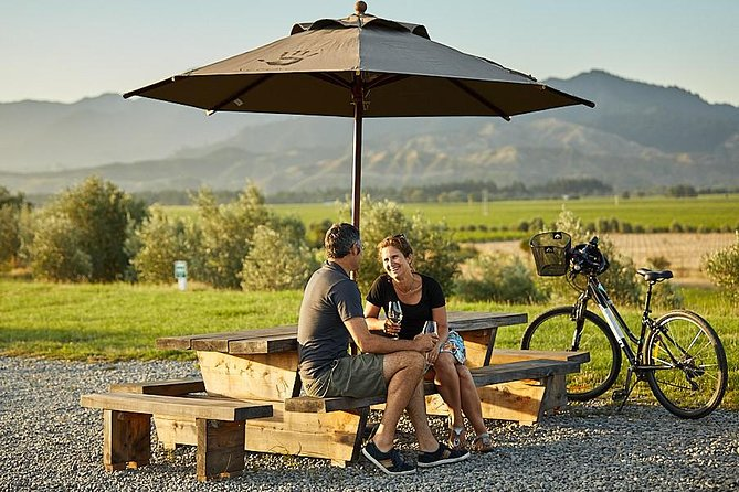 Half Day Guided with Half Day Self-Guided Marlborough Wine Region Bike Tour