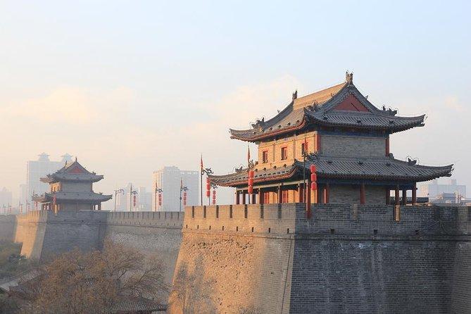 Tour de Terra Cotta Warriors y Ancient City Wall Bus desde Xi'an