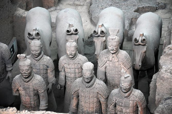 Morning or Afternoon Tour to the Terracotta Warriors and Horses Museum