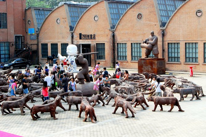 Art in Beijing: Capital Museum, Olympic Area and 798 Art District