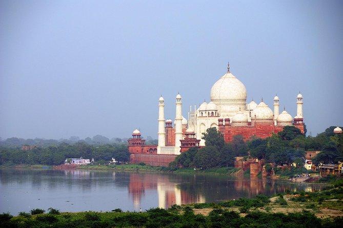 Taj Mahal at Sunrise and Agra Day-Tour from Delhi