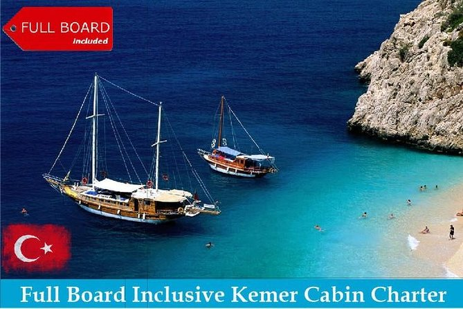 Kemer Relaxation & Sightseeing Yacht Cabin Charter photo 1