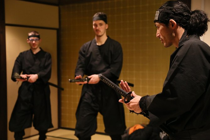 1-hour Ninja hands-on Lesson in English in Kyoto-Entry level