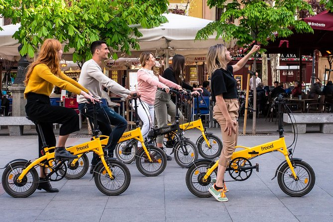 Madrid eBike Tour: Downtown & Palaces