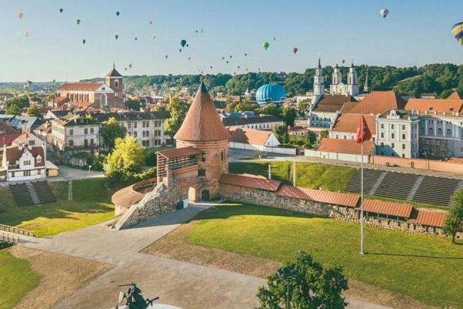 Departure Private Transfer Kaunas City to Kaunas Airport KUN by Business Car