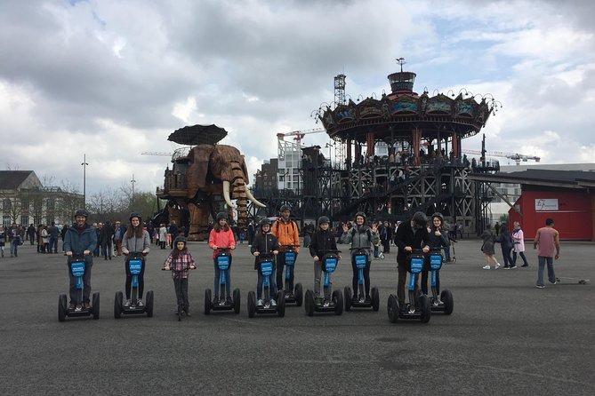 """Segway: """"The Great Escape"""" - city tour Nantes - 2H00"""