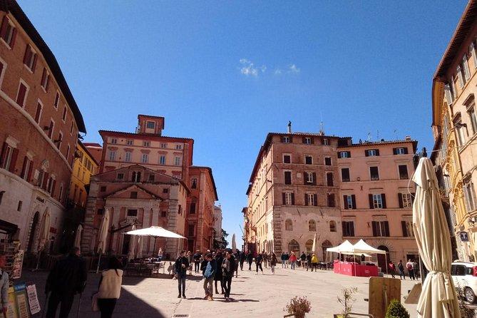 Perugia Highlights Semi Private Walking Tour