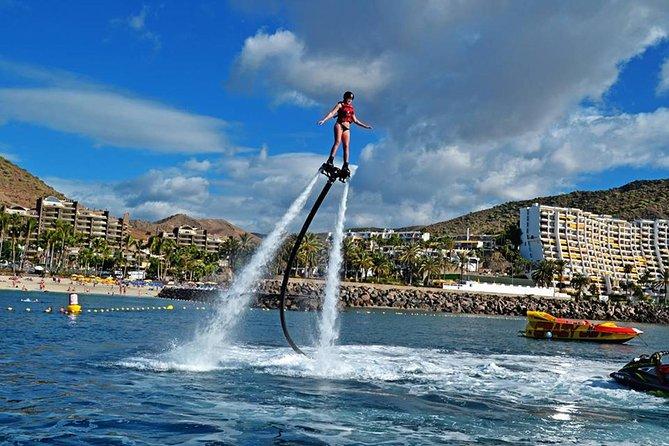 Flyboarding in Anfi del Mar