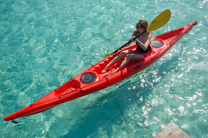 Kayak and Snorkeling Morning Tour in Cala Suaraccia