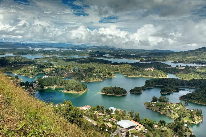 Guatapé Town, Coffee farm and the Rock