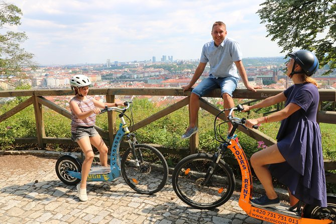 PRIVATE Live-Guided Half-Day Segway & E-Scooter tour with Hotel Pickup